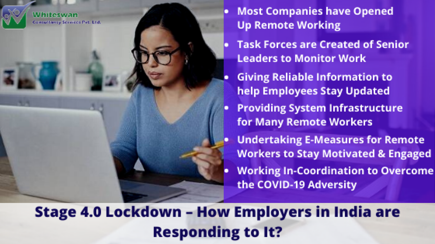 Stage 4.0 Lockdown – How Employers in India are Responding to It? Infographic