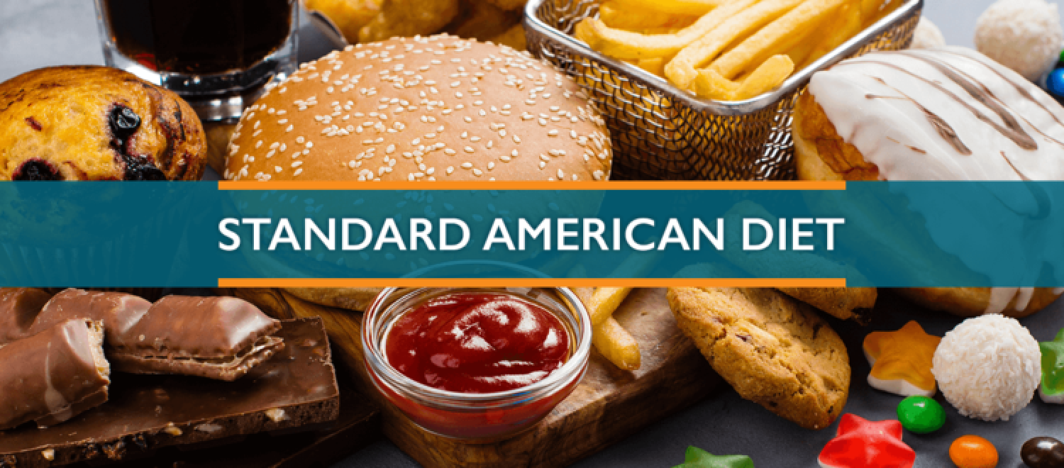 Standard American Diet (SAD) Facts Infographic