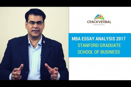 Stanford MBA Application Essay Topic Analysis 2016-2017 Infographic