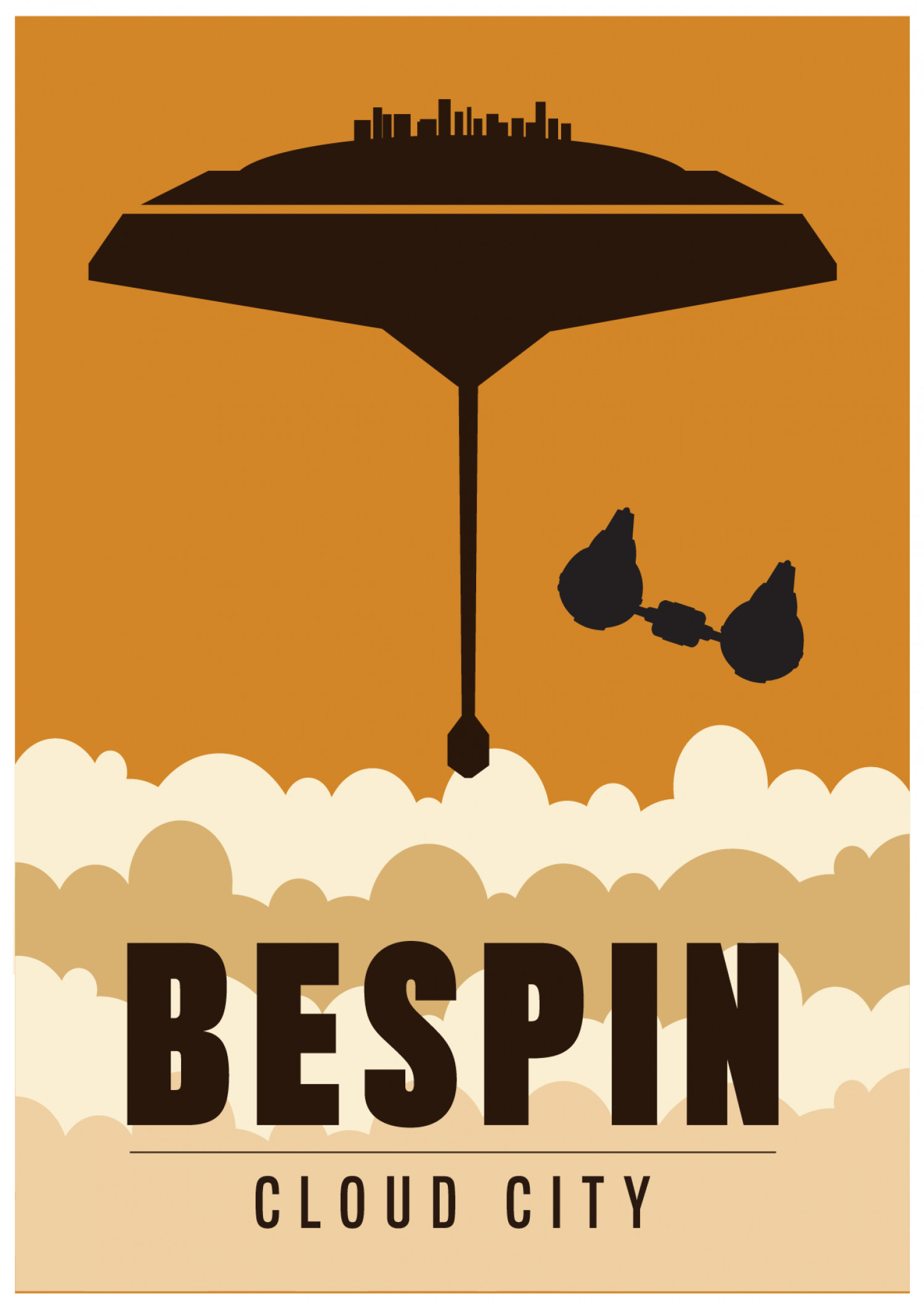 Star Wars Bespin Cloud City Infographic