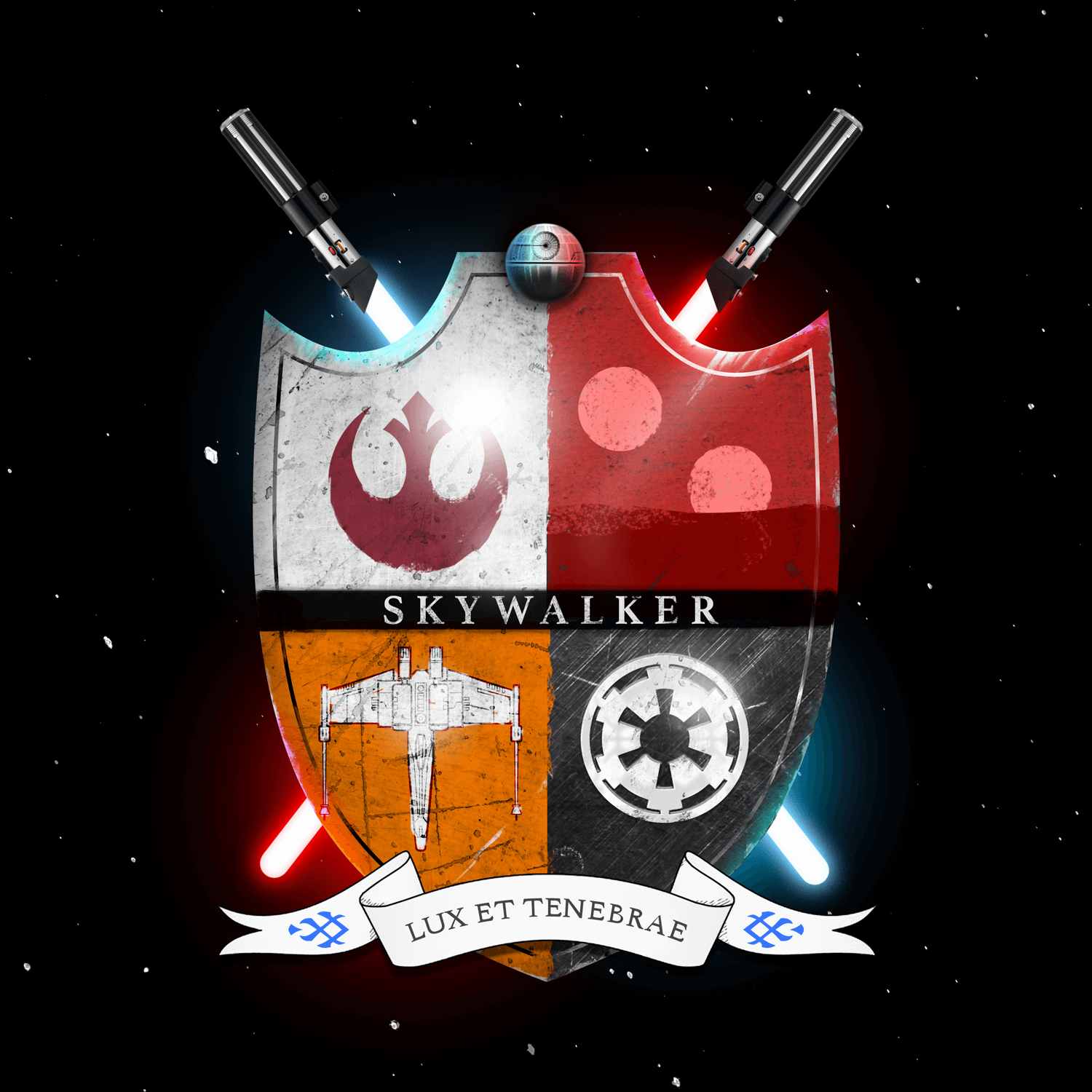 Star Wars Family Crests: Skywalker  Infographic