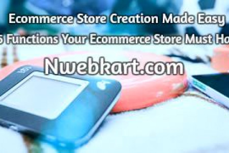 Start Online store - Build online store | eCommerce solution Provider  Infographic