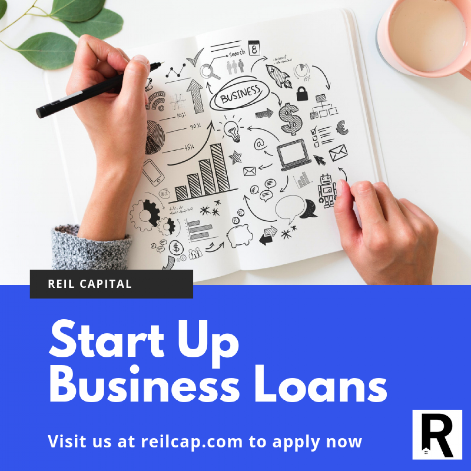 Start Up Business Loans Infographic