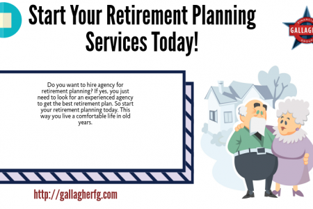 Start Your Retirement Planning Services Today! Infographic