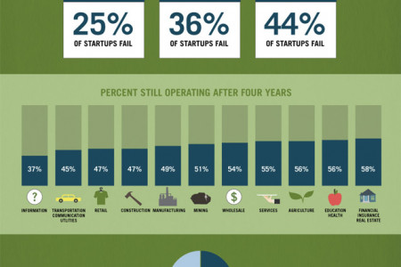Startups by the Numbers: Growing Innovation One Small Business at a Time  Infographic