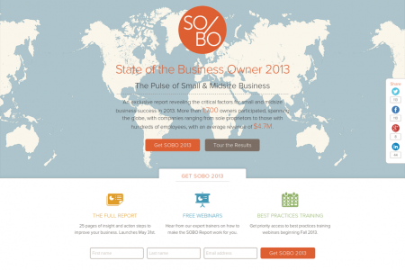 State of the Business Owner 2013 Infographic