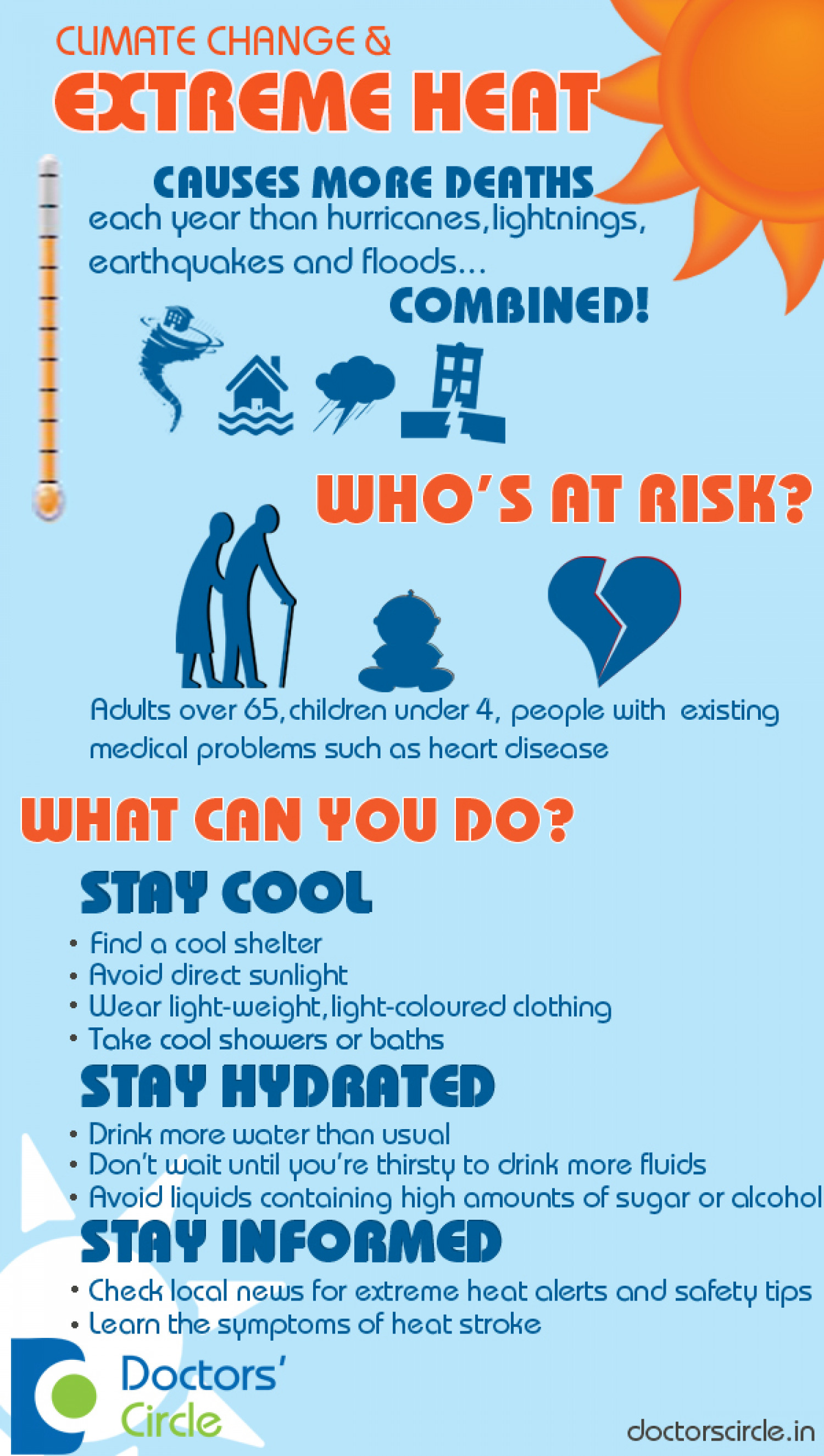 Stay Safe this Summer Infographic