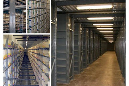Steel Storage Shelving Offered by WPSS Infographic