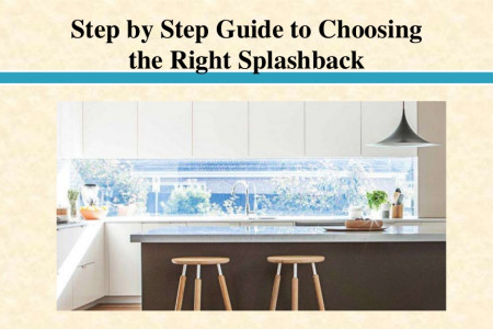 Step by Step Guide to Choosing the Right Splashback Infographic