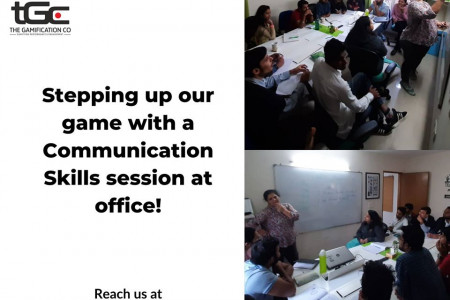 Stepping Up Our Game With A Communication Skills Session At Office!  Infographic