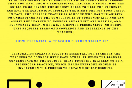 Steps You Should Consider While Choosing the Right Tutor for Your Child  Infographic