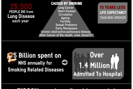 Stop smoking Infographic