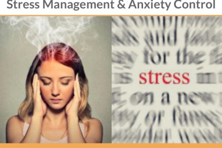 Stress Management & Anxiety Control, Counselling to Overcome Anxiety by Mindgroom.com Infographic