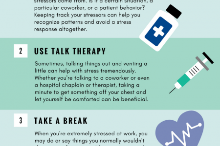 Stress Management for Healthcare Workers Infographic