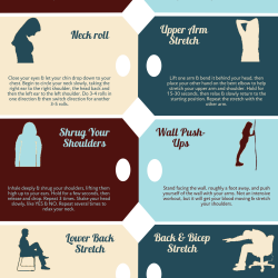 Stretching Exercises At Your Desk Visual Ly
