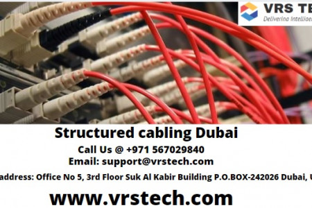 Structured cabling Dubai Infographic