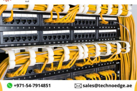 Structured Cabling Installation Dubai Infographic