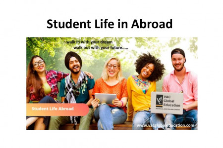 Student Life in Abroad, Australia, New Zealand, VAC Global Education Infographic