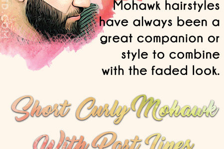 Style Your Short Hair Like A Pro With The Short Curly Mohawk Hairstyle Infographic