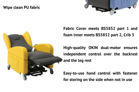 Stylish Brookfield Dual Motor Riser Recliner Chair Infographic