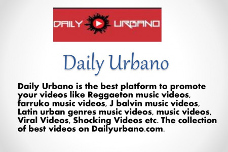 Submit a Video on Daily Urbano Infographic