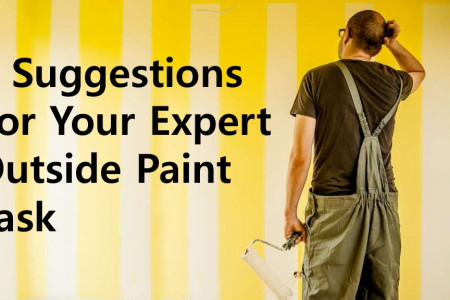 Suggestions for your expert outside Paint Task Infographic