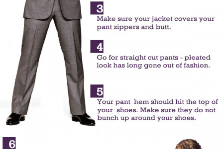 Suit Up! 8 Tips from Barney Stinson Infographic