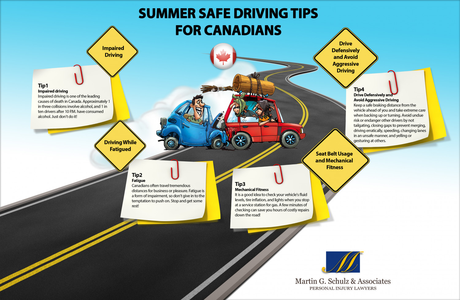 Summer Safe Driving Tips  Infographic