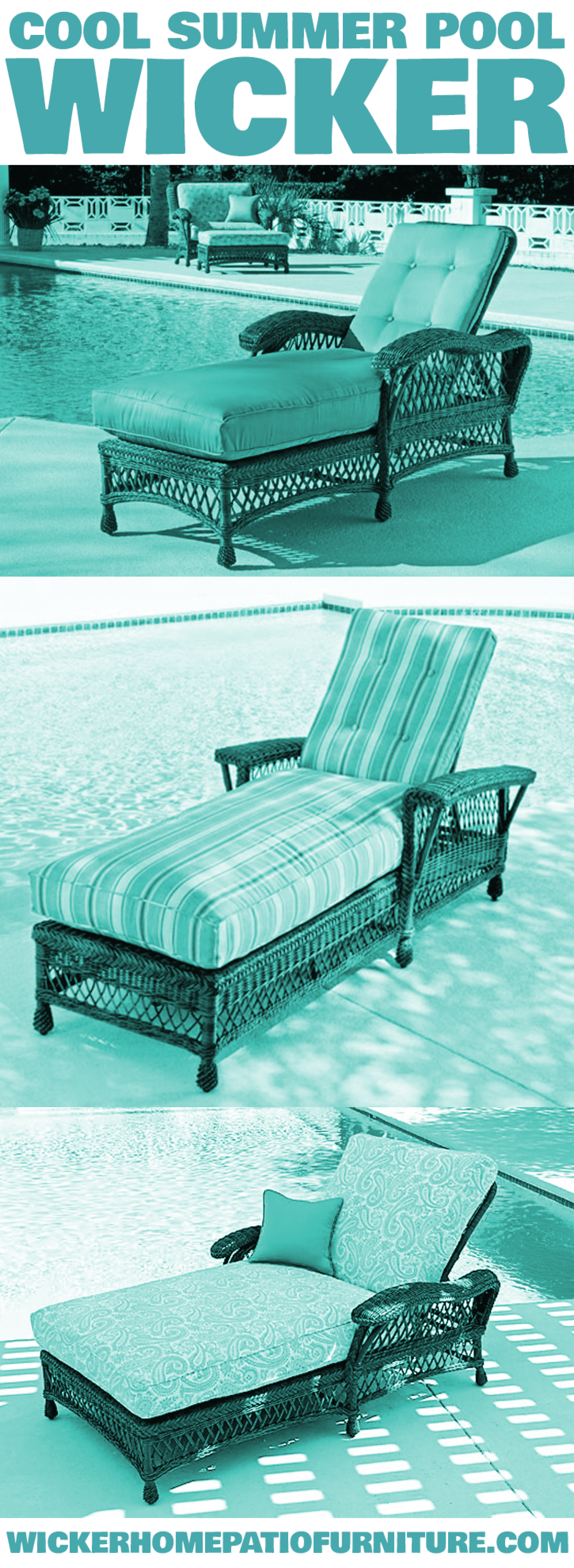 Summer Wicker Furniture Infographic
