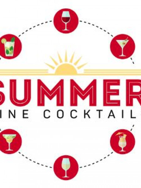 Roberson Wine - Summer Wine Cocktails  Infographic