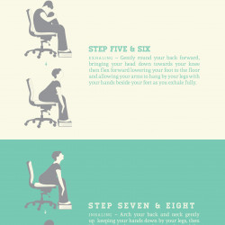 sun salutations at your desk  visually