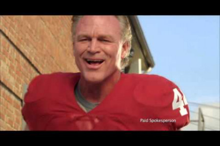 Super Bowl Video with Brian Bosworth Infographic