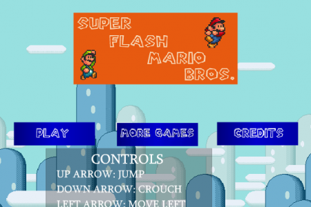 Super Mario Flash-Super Mario Bros-Most Fun Games Infographic