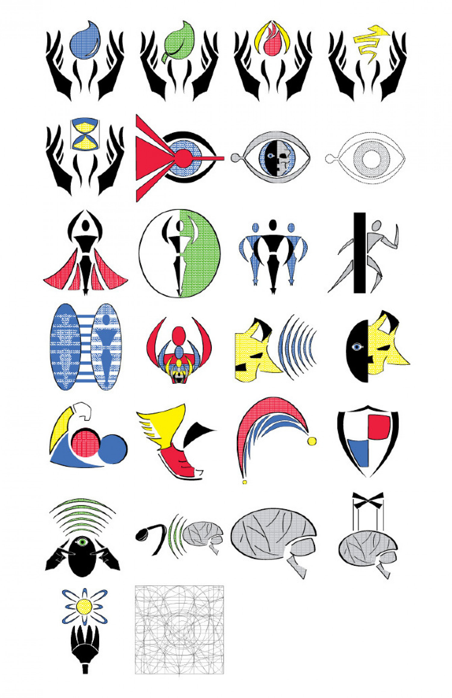 super power symbols visual ly
