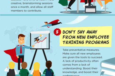 Supercharge Your Staff! Infographic