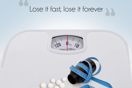 Supreme Homeo And Diet for weight Loss Infographic