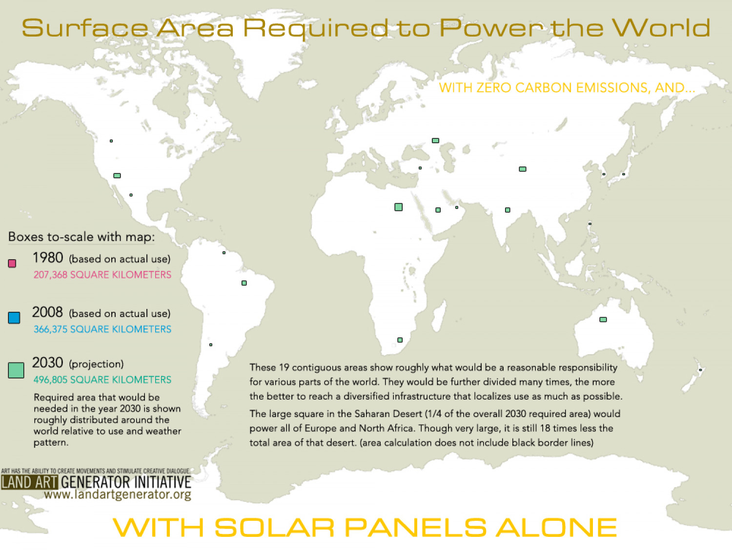 Surface area required to power the world with solar panels alone surface area required to power the world with solar panels alone infographic gumiabroncs Image collections
