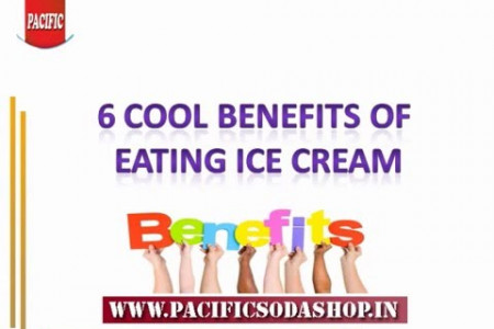 Surprising Benefits of Eating Ice Cream Infographic