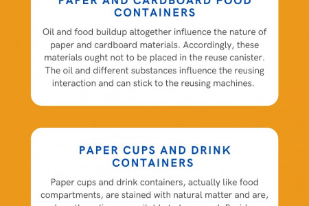 SURPRISING THINGS THAT ARE NOT RECYCLABLE Infographic