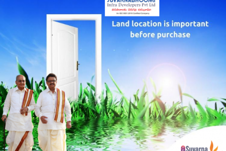 Suvarnabhoomi Infra |  If you own the land..... Infographic