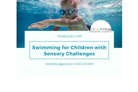 Swimming for Children with Sensory Challenges   Occupational Infographic