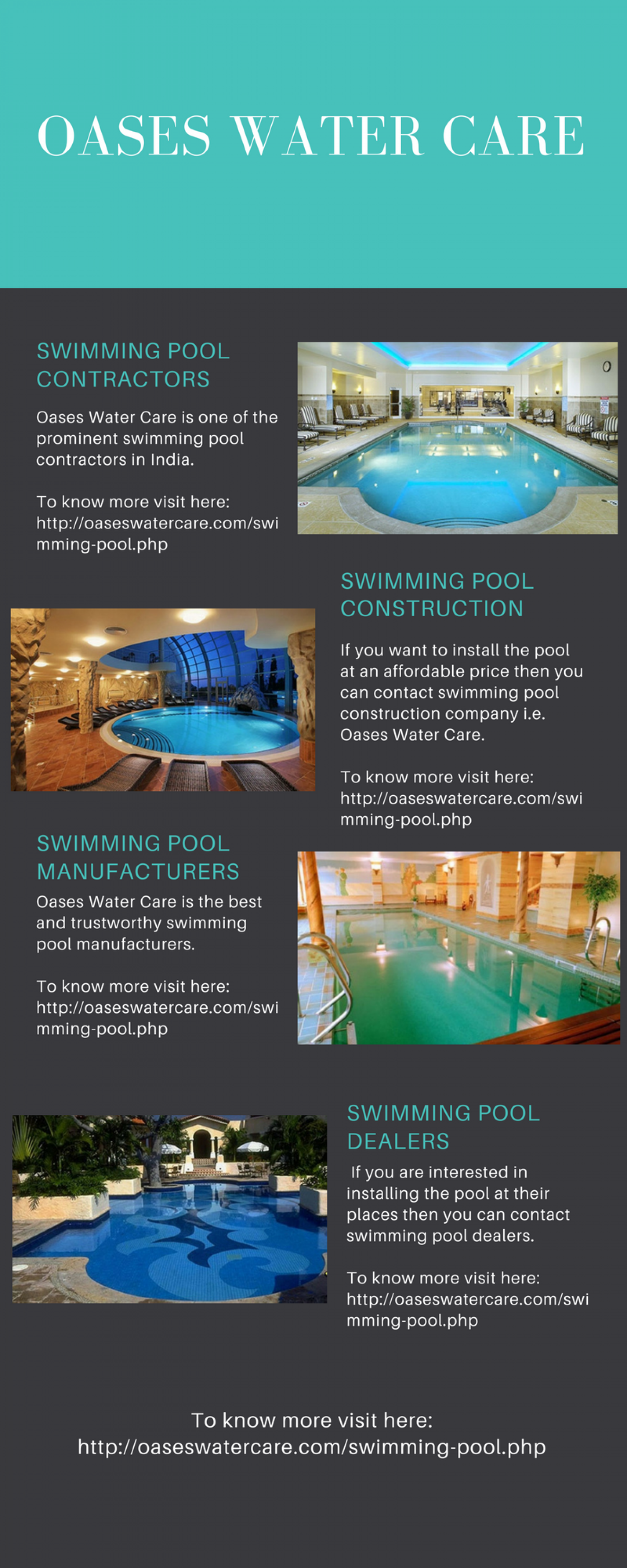 Swimming Pool Dealers Infographic