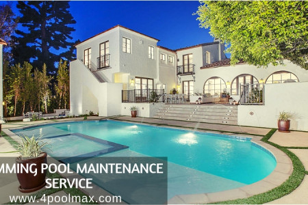 Swimming Pool Maintenance Service - PoolMax Infographic