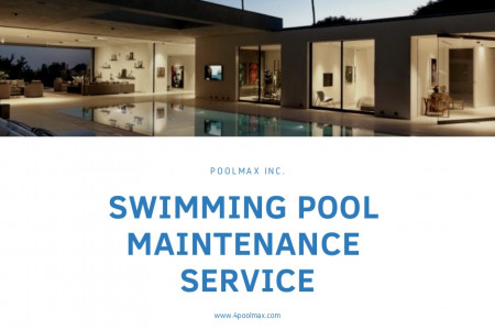 Swimming Pool Maintenance Service Infographic