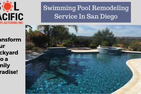 Swimming Pool Remodeling Service In San Diego Infographic