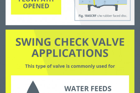 Swing Check Valve Infographic