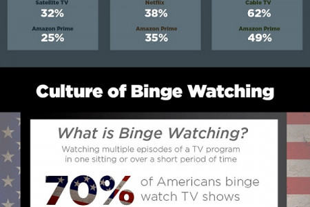 Switching Channels: The Evolution of Television, Binge Watching, and Advertising Infographic