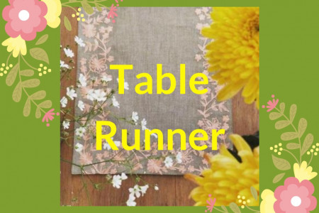 Table Runner Infographic