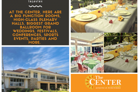 Tagaytay wedding events place Infographic