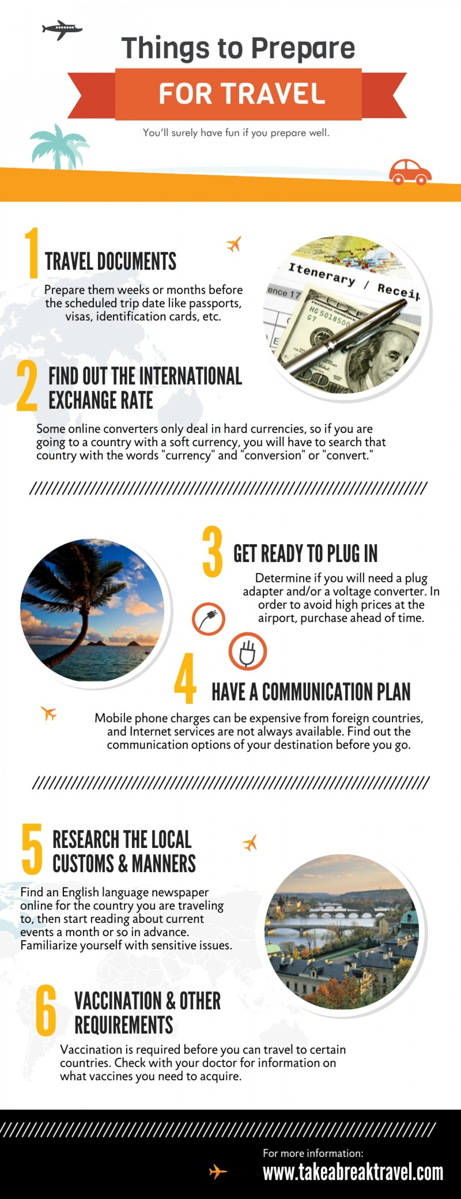 Take a Break Travel Presents Infographic